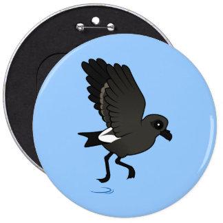 Leach's Storm Petrel (flutter) Buttons