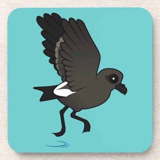 Leach's Storm Petrel (flutter) Drink Coaster