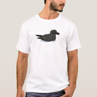 Leach's Storm Petrel (swim) Men's Basic T-Shirt