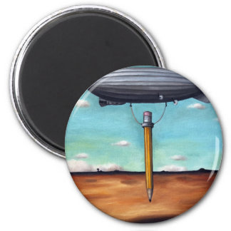 Lead 2 Inch Round Magnet