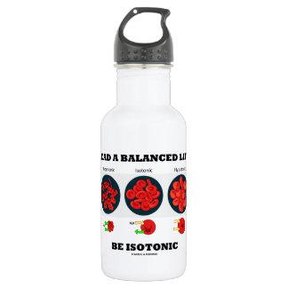 Lead A Balanced Life Be Isotonic Osmolytic Water Bottle