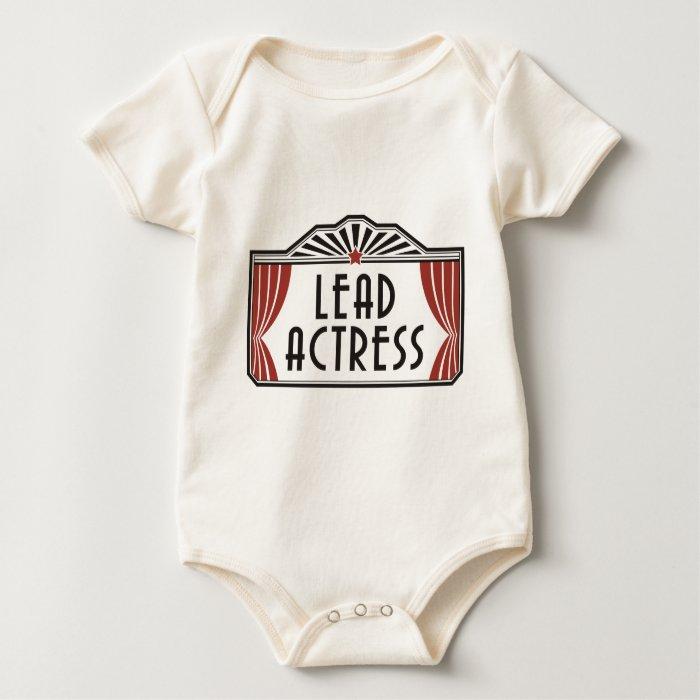 Lead Actress Baby Bodysuit