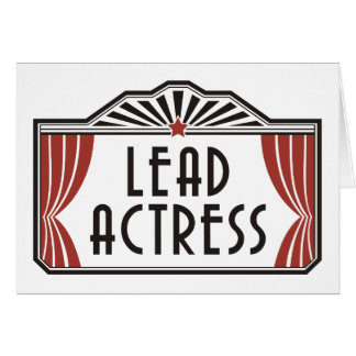 Lead Actress Card