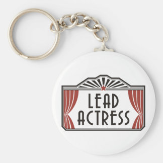 Lead Actress Keychain