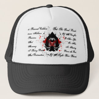 lead and aces, 15 Personal Caliber... - Customized Trucker Hat