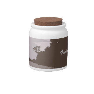 Lead and Guide Me - Psalm 31:3 Candy Jars