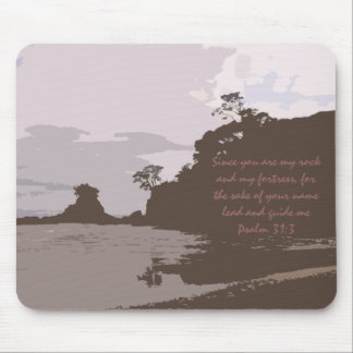 Lead and Guide Me - Psalm 31:3 Mouse Pad