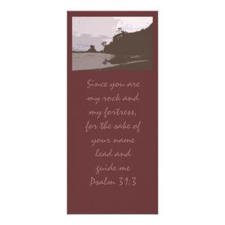 Lead and Guide Me - Psalm 31:3 Custom Rack Card