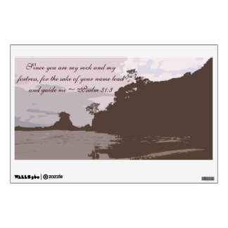 Lead and Guide Me - Psalm 31:3 Wall Sticker