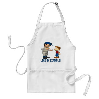 Lead By Example Apron
