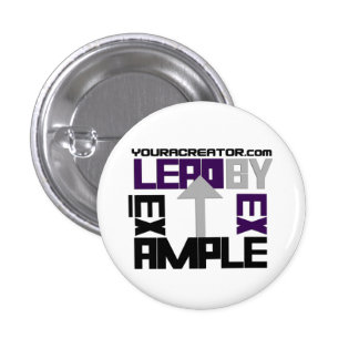 Lead By Example Button