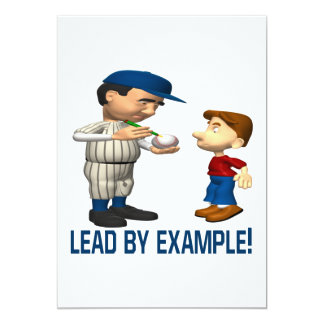 Lead By Example Card