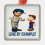 Lead By Example Christmas Ornaments