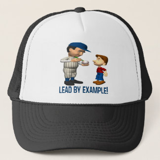Lead By Example Trucker Hat