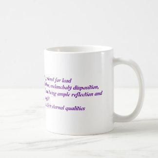 Lead Coffee Mug