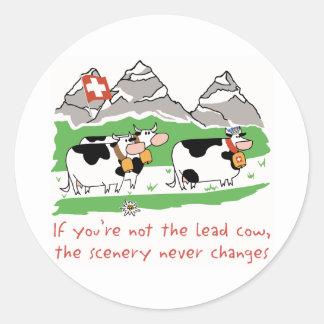 """Lead Cow 3"""" Sticker"""