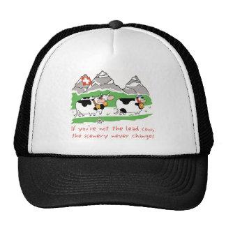 Lead Cow Trucker Cap Trucker Hat