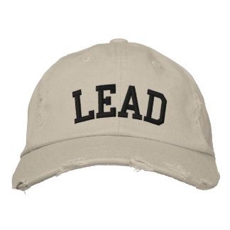 Lead Embroidered Hat Embroidered Baseball Caps