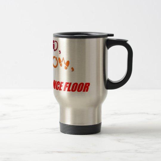 """Lead, Follow"" mug"