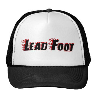 Lead Foot Trucker Hat