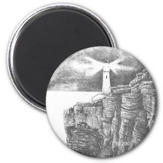 Lead Kindly Light 2 Inch Round Magnet