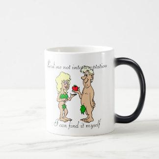 Lead me not into temptation Morph Mug