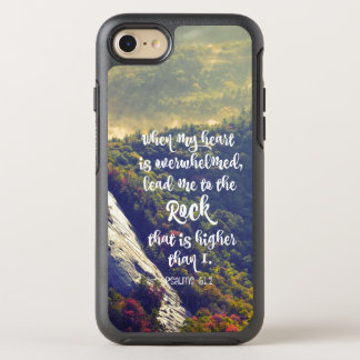 Lead me to the Rock Bible Verse OtterBox Symmetry iPhone 7 Case
