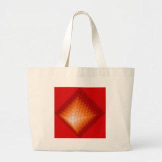 Lead pyramid jumbo tote bag