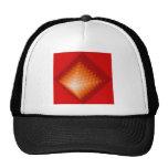 Lead pyramid mesh hat