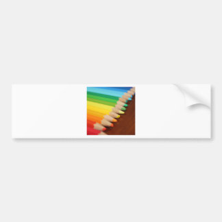 Lead Rainbow Bumper Sticker