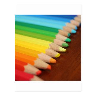 Lead Rainbow Postcard