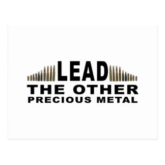 LEAD - The Other Precious Metal Postcard