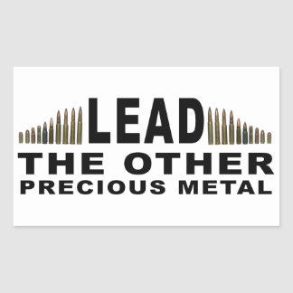 LEAD - The Other Precious Metal Stickers