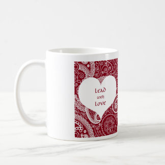 Lead with Love Mug