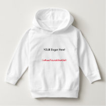 Lead with the classic hoodie! (Toddler) Hoodie