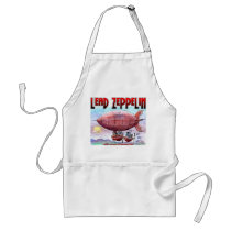 Lead Zeppelin - No Substitute For Horse Power Adult Apron