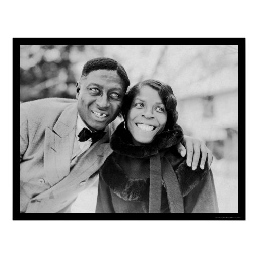 Leadbelly & Martha Ledbetter 1935 Poster