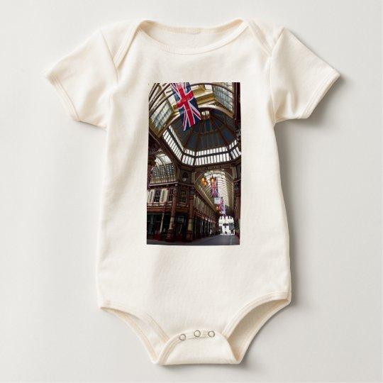 Leadenhall Market London Baby Bodysuit