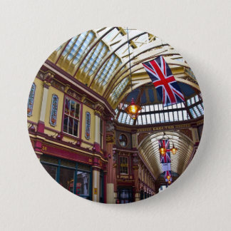 Leadenhall Market London Button