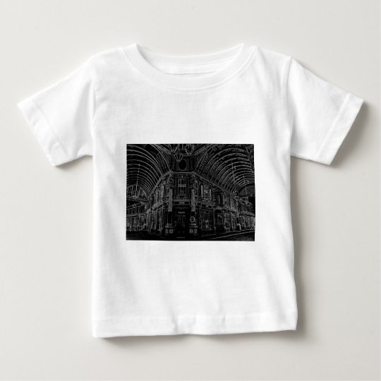 leadenhall Market London Digital artwork Baby T-Shirt