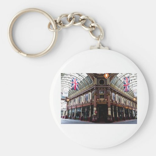 Leadenhall Market London Keychain