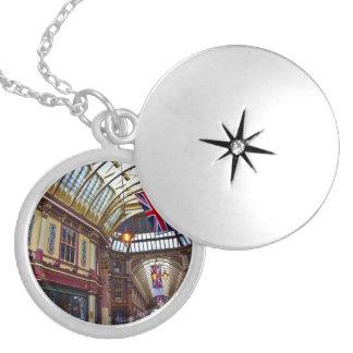 Leadenhall Market London Locket Necklace
