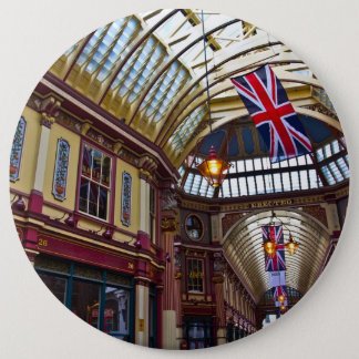 Leadenhall Market London Pinback Button