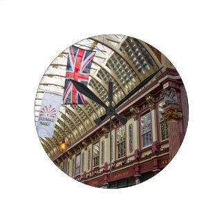 Leadenhall Market London Round Clock