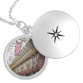 Leadenhall Market London Silver Plated Necklace