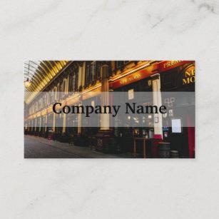 London landmark business cards zazzle leadenhall market london united kingdom business card colourmoves