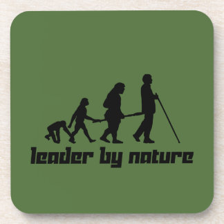 Leader by Nature Drink Coaster
