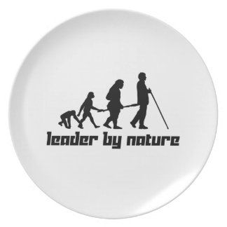 Leader by Nature Plate
