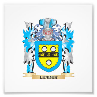 Leader Coat of Arms - Family Crest Photo