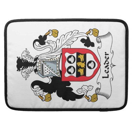 Leader Family Crest Sleeves For MacBooks